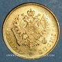 Coins Finlande. Nicolas II (1894-1917). 10 markkaa 1913 S. (PTL 900‰. 3,23 g)