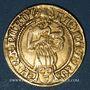 Coins Francfort. Frédéric III (1481-1493). Florin d'or