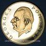Coins Gabon. 5 000 francs 1971. Georges Pompidou. (PTL 900‰. 17,50 g)