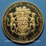 Coins Gabon. République. 50 francs 1960. (PTL 900‰. 16 g)