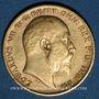 Coins Grande Bretagne. Edouard VII (1901-1910). 1/2 souverain 1905. (PTL 917‰. 3,99 g)
