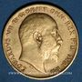 Coins Grande Bretagne. Edouard VII (1901-1910). 1/2 souverain 1905. (PTL 917/1000. 3,99 g)