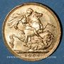 Coins Grande Bretagne. Edouard VII (1901-1910). Souverain 1902. (PTL 917‰. 7,99 g)