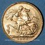 Coins Grande Bretagne. Edouard VII (1901-1910). Souverain 1902. (PTL 917/1000. 7,99 g)