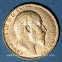 Coins Grande Bretagne. Edouard VII (1901-1910). Souverain 1904. (PTL 917‰. 7,99 g)