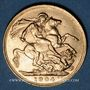 Coins Grande Bretagne. Edouard VII (1901-1910). Souverain 1904. (PTL 917/1000. 7,99 g)