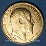 Coins Grande Bretagne. Edouard VII (1901-1910). Souverain 1906. Londres. (PTL 917/1000. 7,99 g)