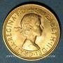 Coins Grande Bretagne. Elisabeth II (1952- /). Souverain 1958. (PTL 917‰. 7,99 g)