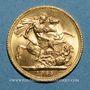Coins Grande Bretagne. Elisabeth II (1952- /). Souverain 1965. (PTL 917‰. 7,99 g)
