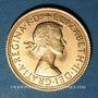Coins Grande Bretagne. Elisabeth II (1952- /). Souverain 1967. (PTL 917‰. 7,99 g)
