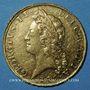 Coins Grande Bretagne. Georges II (1727-1760). 5 guinées E.I.C.