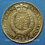 Coins Grande Bretagne. Georges III (1760-1820). 1/2 guinée 1810. (PTL 917‰. 4,175 g)