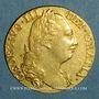Coins Grande Bretagne. Georges III (1760-1820). Guinée 1777. (PTL 917‰. 8,35 g)