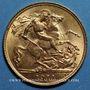 Coins Grande Bretagne. Georges V (1910-1936). 1/2 souverain 1911. (PTL 917/1000. 3,99 g)