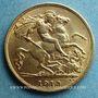 Coins Grande Bretagne. Georges V (1910-1936). 1/2 souverain 1913. (PTL 917‰. 3,99 g)