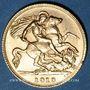 Coins Grande-Bretagne. Georges V (1910-1936). 1/2 souverain, 1913. (PTL 917/1000. 3,99 g)