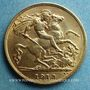 Coins Grande Bretagne. Georges V (1910-1936). 1/2 souverain 1913. (PTL 917/1000. 3,99 g)