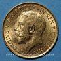 Coins Grande Bretagne. Georges V (1910-1936). 1/2 souverain 1915. (PTL 917‰. 3,99 g)