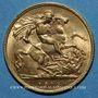 Coins Grande Bretagne. Georges V (1910-1936). 1/2 souverain 1915. (PTL 917/1000. 3,99 g)
