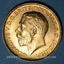 Coins Grande Bretagne. Georges V (1910-1936). Souverain 1925. Londres. (PTL 917‰. 7,99 g)