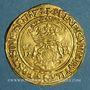 Coins Grande Bretagne. Henri VIII (1509-1547). Couronne à la double rose, n.d.(1526-1544)