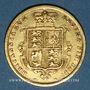 Coins Grande Bretagne. Victoria (1837-1901). 1/2 souverain 1885. (PTL 917/1000. 3,99 g)