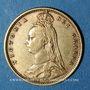 Coins Grande Bretagne. Victoria (1837-1901). 1/2 souverain 1892. (PTL 917‰. 3,99 g)