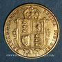Coins Grande Bretagne. Victoria (1837-1901). 1/2 souverain 1892 (PTL 917‰. 3,99 g)