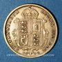 Coins Grande Bretagne. Victoria (1837-1901). 1/2 souverain 1892. (PTL 917/1000. 3,99 g)