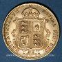 Coins Grande-Bretagne. Victoria (1837-1901). 1/2 souverain 1892. (PTL 917/1000. 3,99 g)