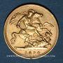 Coins Grande Bretagne. Victoria (1837-1901). 1/2 souverain 1894. (PTL 917‰. 3,99 g)