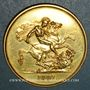Coins Grande Bretagne. Victoria (1837-1901). 5 livres 1887. (PTL 917‰. 39,94 g)