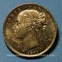 Coins Grande Bretagne. Victoria (1837-1901). Souverain 1871. (PTL 917‰. 7,99 g)