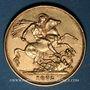 Coins Grande Bretagne. Victoria (1837-1901). Souverain 1872. (PTL 917‰. 7,99 g)