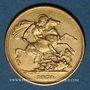 Coins Grande Bretagne. Victoria (1837-1901). Souverain 1874. (PTL 917‰. 7,99 g)