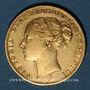 Coins Grande Bretagne. Victoria (1837-1901). Souverain 1874. (PTL 917/1000. 7,99 g)