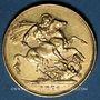 Coins Grande Bretagne. Victoria (1837-1901). Souverain 1876. (PTL 917‰. 7,99 g)