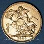 Coins Grande Bretagne. Victoria (1837-1901). Souverain 1880. (PTL 917‰. 7,99 g)