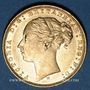 Coins Grande Bretagne. Victoria (1837-1901). Souverain 1880. (PTL 917/1000. 7,99 g)