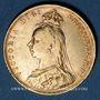 Coins Grande Bretagne. Victoria (1837-1901). Souverain 1889. Londres. (PTL 917‰. 7,99 g)