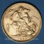 Coins Grande Bretagne. Victoria (1837-1901). Souverain 1889, Londres. (PTL 917/1000. 7,99 g)