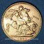 Coins Grande Bretagne. Victoria (1837-1901). Souverain 1890. Londres. (PTL 917‰. 7,99 g)