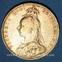 Coins Grande Bretagne. Victoria (1837-1901). Souverain 1890, Londres. (PTL 917/1000. 7,99 g)