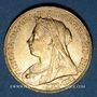 Coins Grande Bretagne. Victoria (1837-1901). Souverain 1898. (PTL 917‰. 7,99 g)