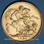 Coins Grande Bretagne. Victoria (1837-1901). Souverain 1898. (PTL 917/1000. 7,99 g)