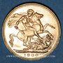 Coins Grande Bretagne. Victoria (1837-1901). Souverain 1900. (PTL 917‰. 7,99 g)