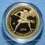 Coins Grèce. 100 euro 2016. Mythologie grecque - Poséidon. (PTL 999,9/1000. 3,89 g)
