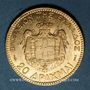 Coins Grèce. Georges I (1863-1913). 20 drachmes 1884. (PTL 900‰. 6,45 g)