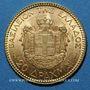 Coins Grèce. Georges I (1863-1913). 20 drachmes 1884. (PTL 900/1000. 6,45 g)