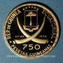 Coins Guinée Equatoriale. République. 750 pesetas 1970. (PTL 900/1000. 10,57 g)